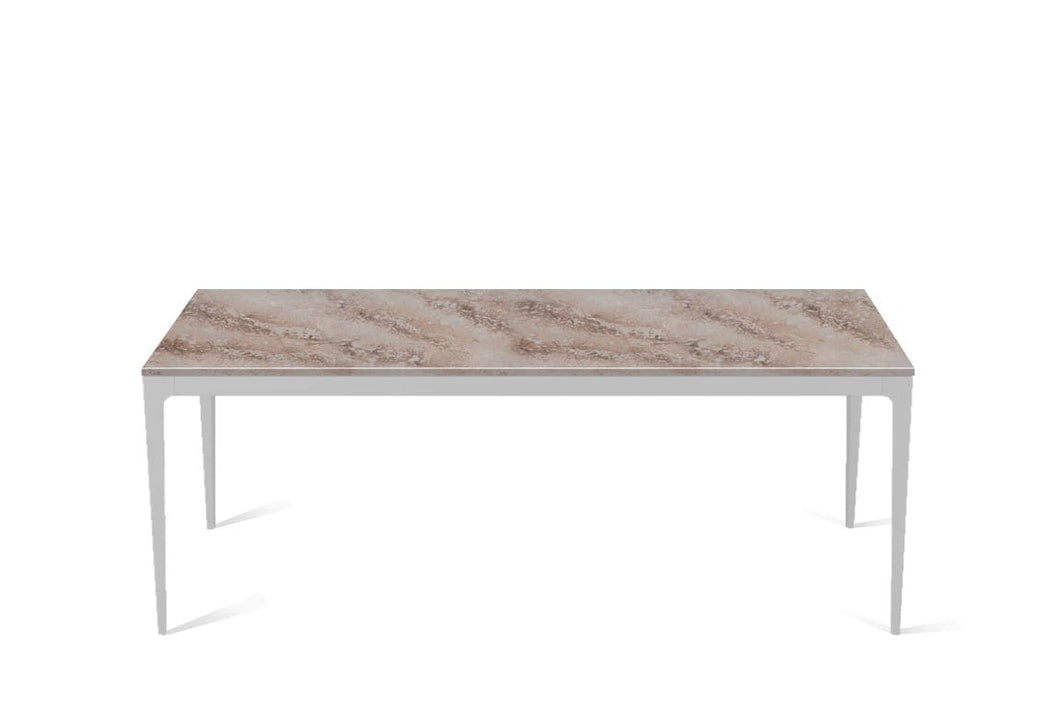 Excava Long Dining Table Oyster