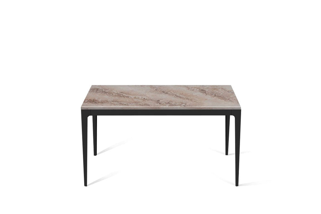 Excava Standard Dining Table Matte Black