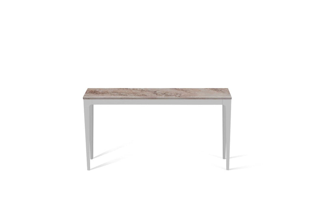 Excava Slim Console Table Oyster