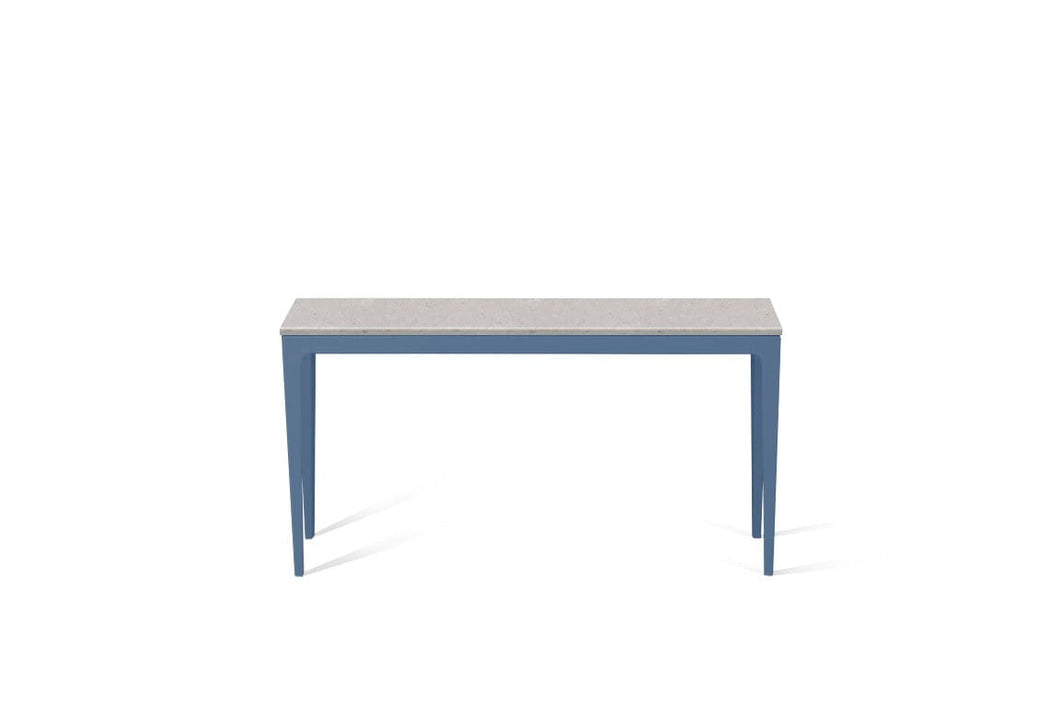 Clamshell Slim Console Table Wedgewood