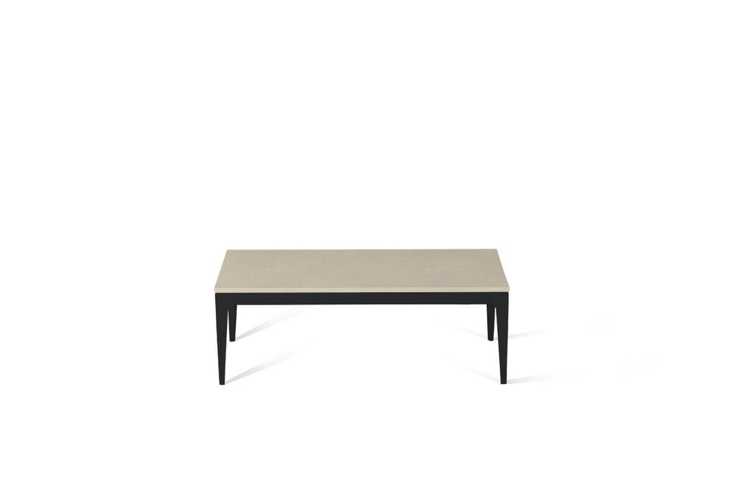 Buttermilk Coffee Table Matte Black