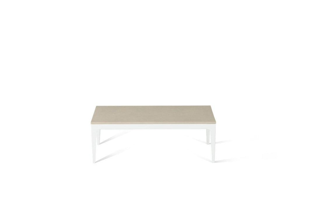Buttermilk Coffee Table Pearl White