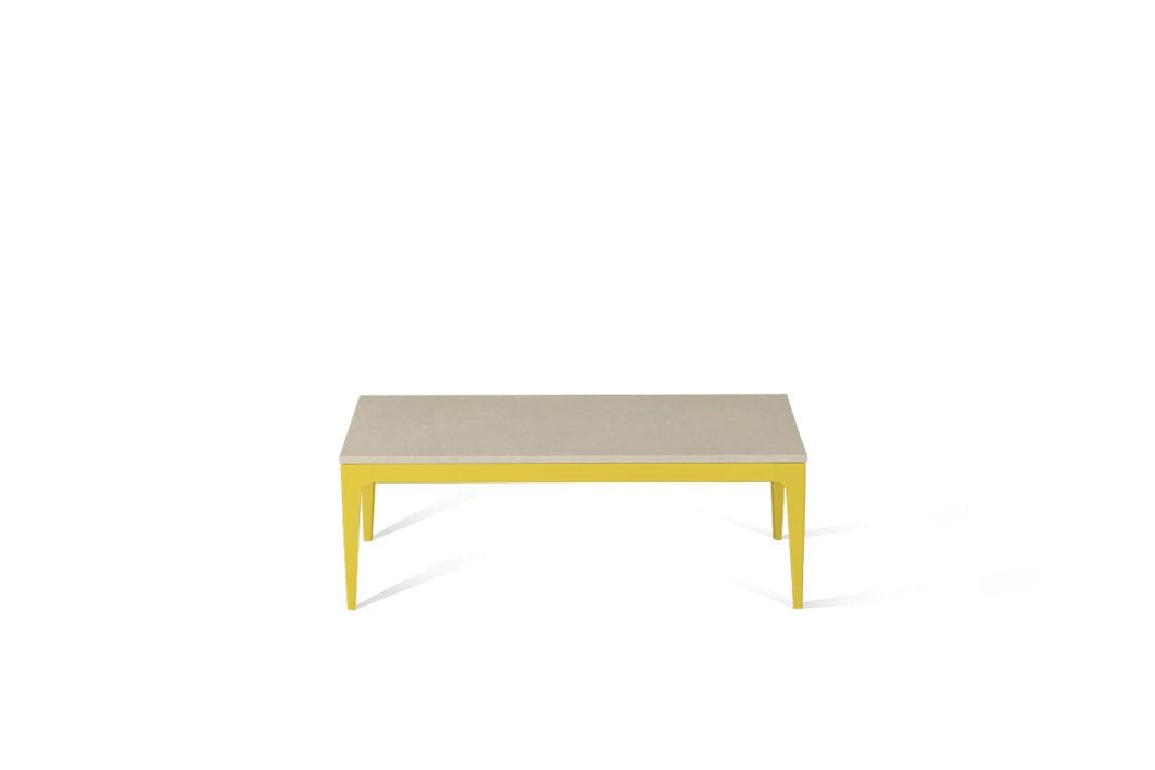 Buttermilk Coffee Table Lemon Yellow