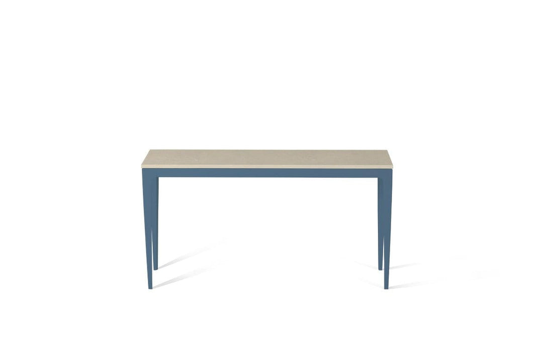 Buttermilk Slim Console Table Wedgewood