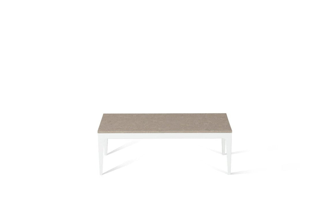 Shitake Coffee Table Pearl White