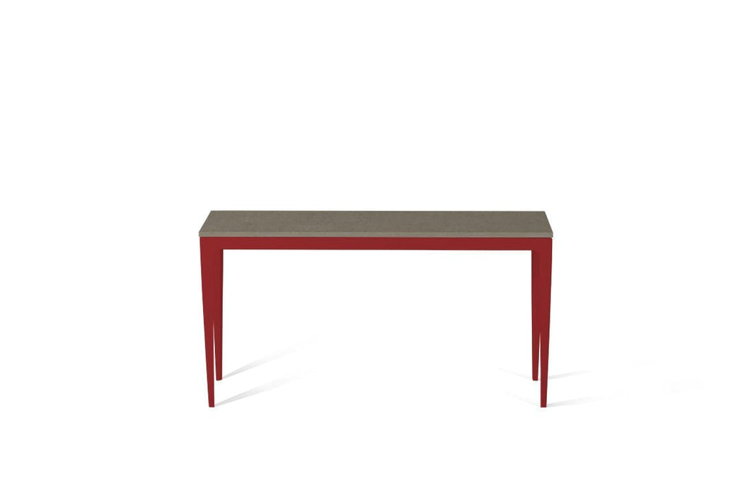 Ginger Slim Console Table Flame Red