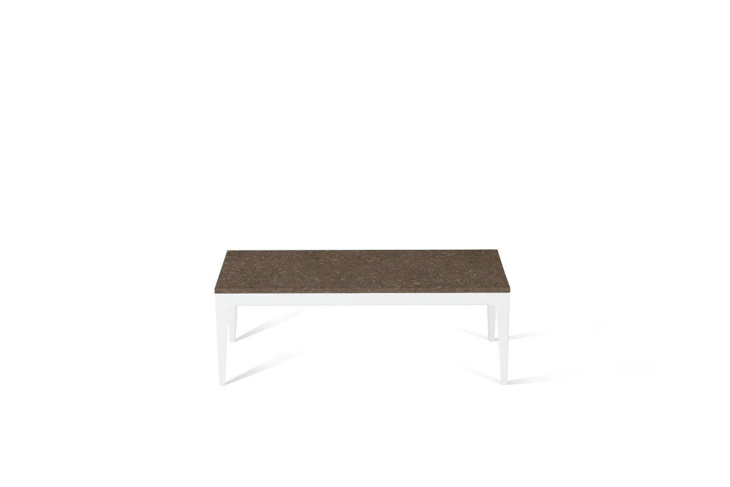 Wild Rice Coffee Table Pearl White
