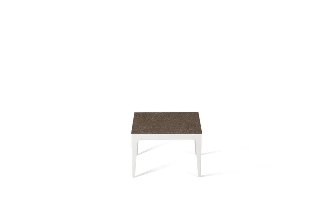 Wild Rice Cube Side Table Oyster