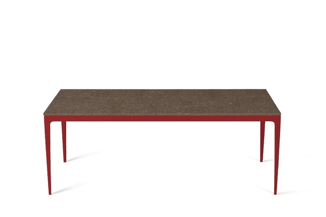 Wild Rice Long Dining Table Flame Red