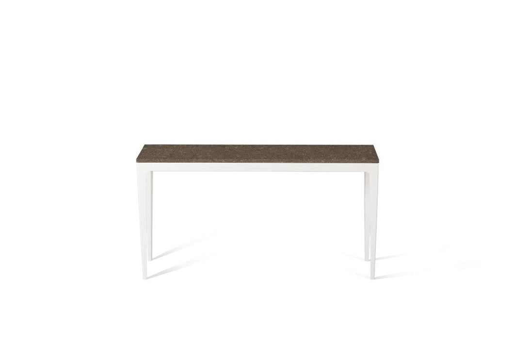 Wild Rice Slim Console Table Oyster