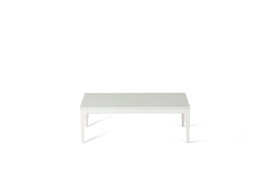 Organic White Coffee Table Oyster