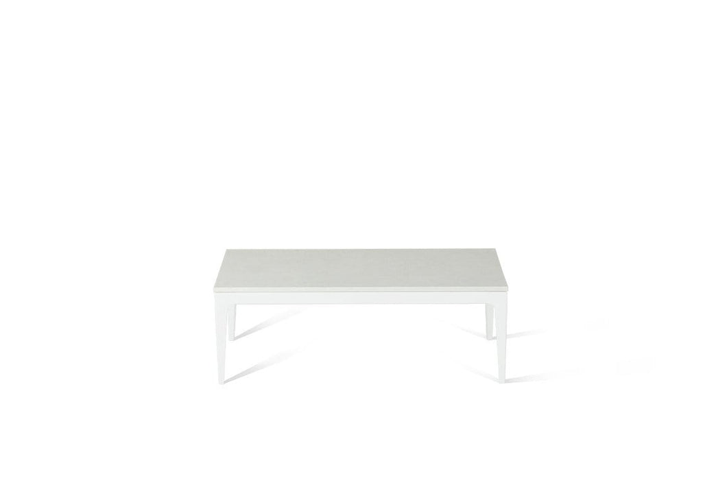 Organic White Coffee Table Pearl White