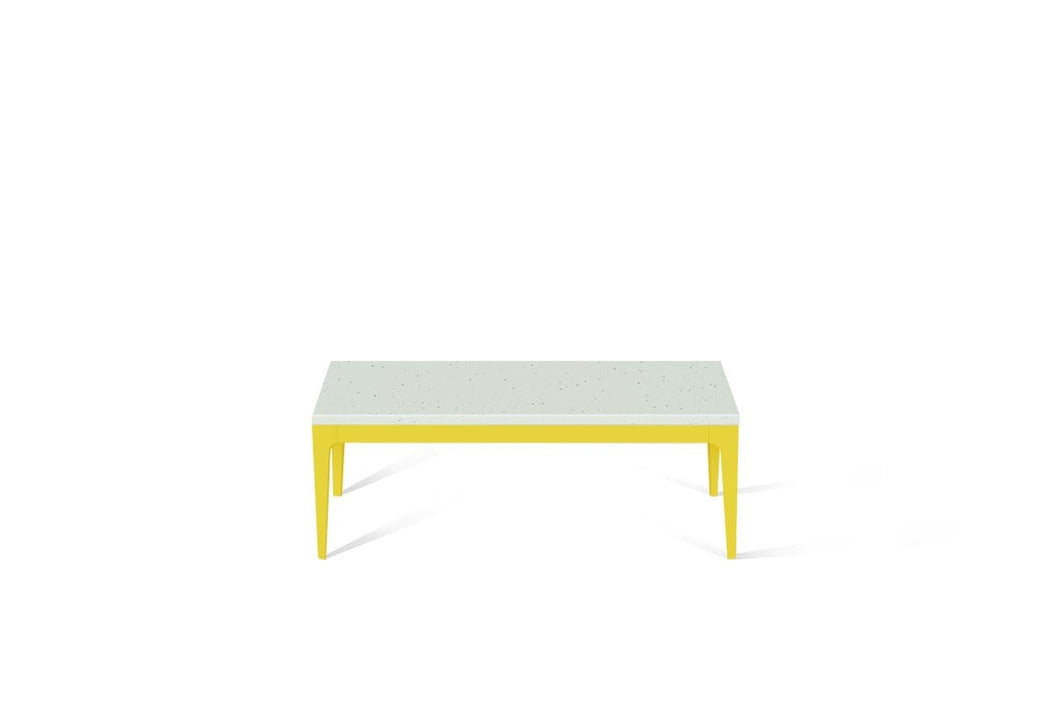 Frozen Terra Coffee Table Lemon Yellow