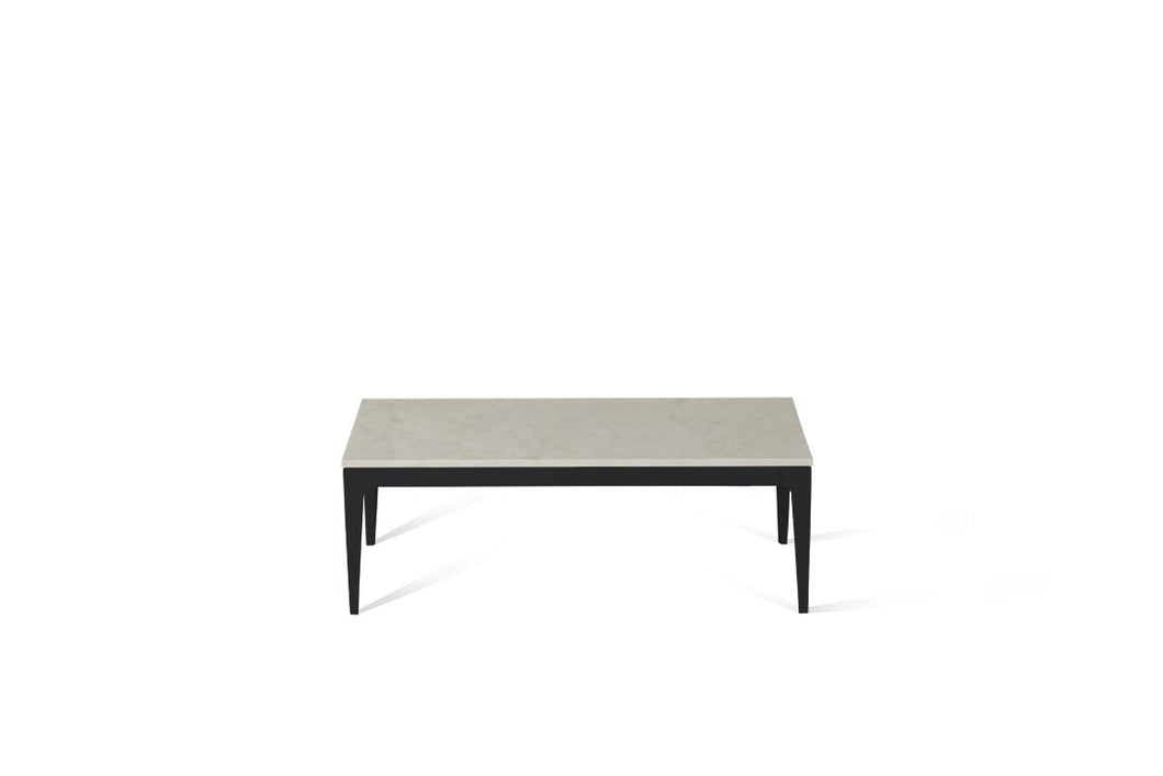 London Grey Coffee Table Matte Black