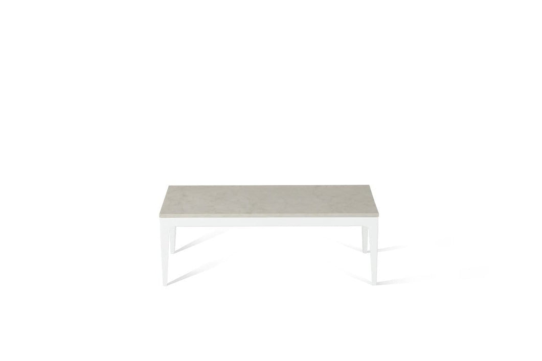 London Grey Coffee Table Pearl White