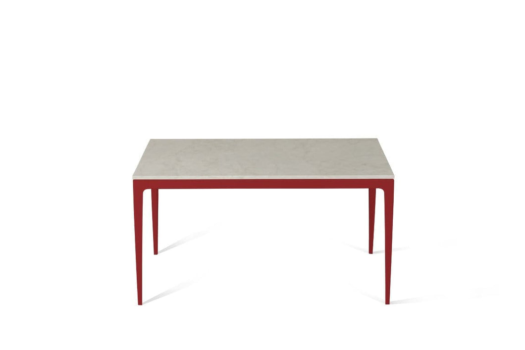 London Grey Standard Dining Table Flame Red