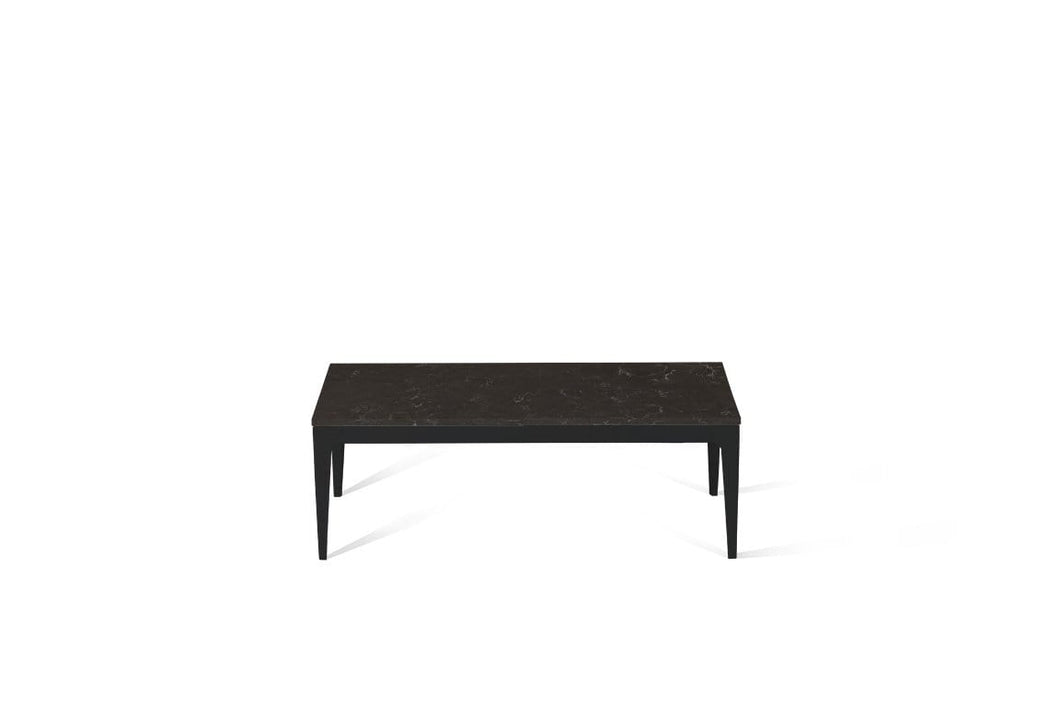 Piatra Grey Coffee Table Matte Black