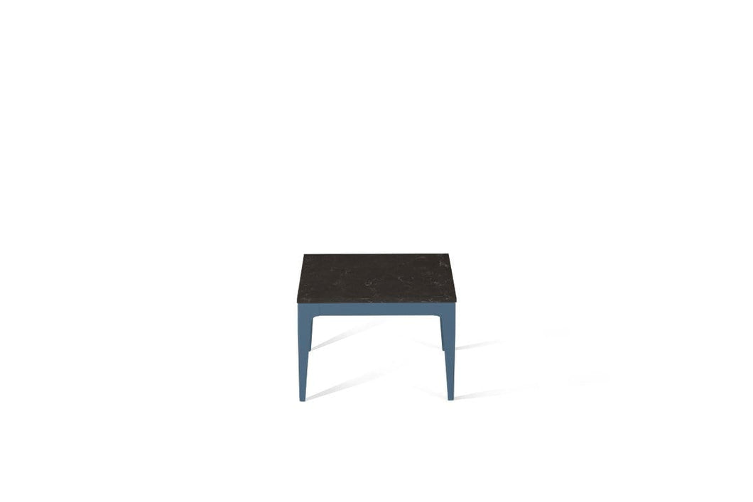 Piatra Grey Cube Side Table Wedgewood