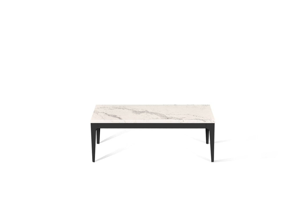 Statuario Maximus Coffee Table Matte Black