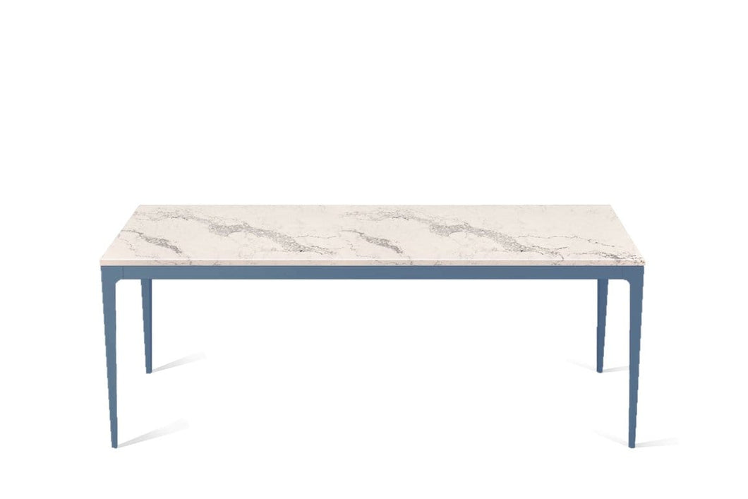 Statuario Maximus Long Dining Table Wedgewood