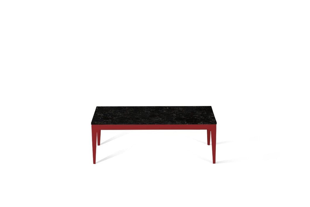 Vanilla Noir Coffee Table Flame Red