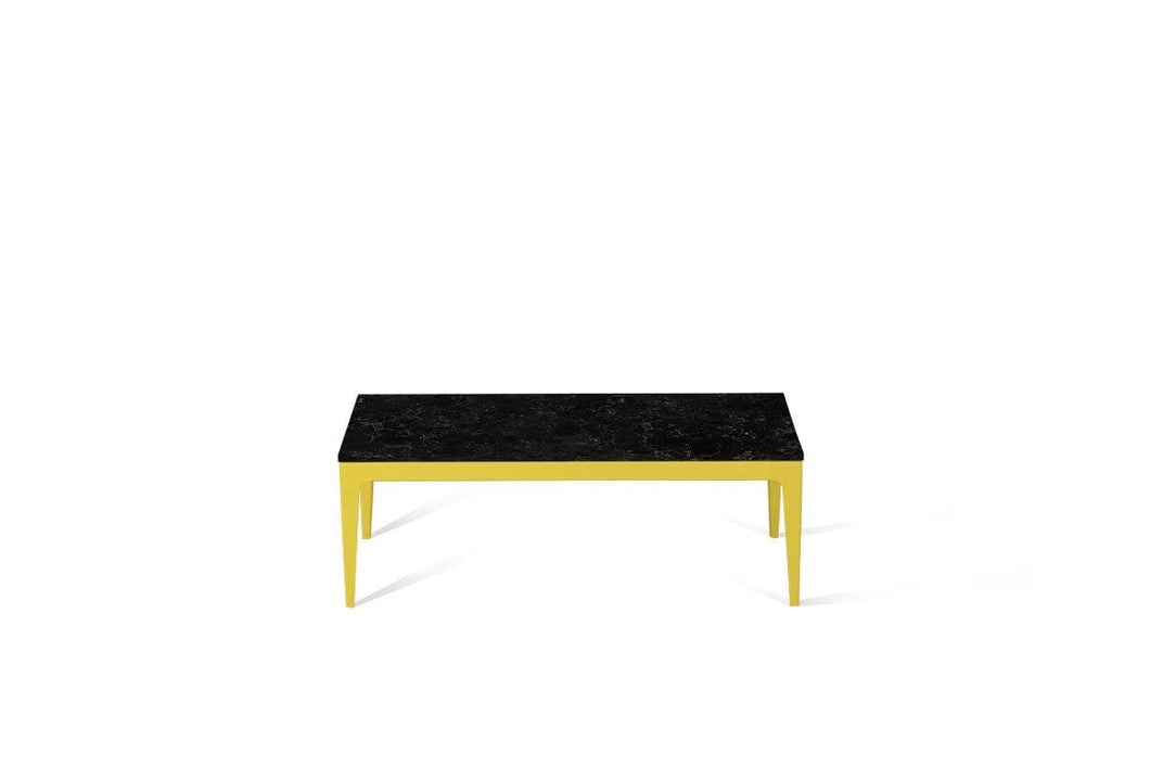 Vanilla Noir Coffee Table Lemon Yellow