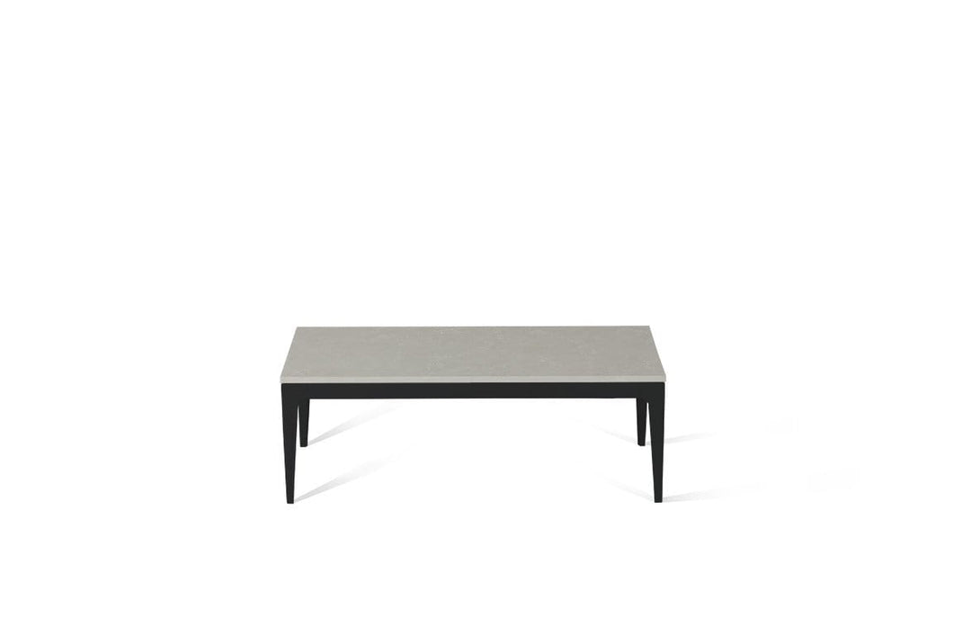 Alpine Mist Coffee Table Matte Black