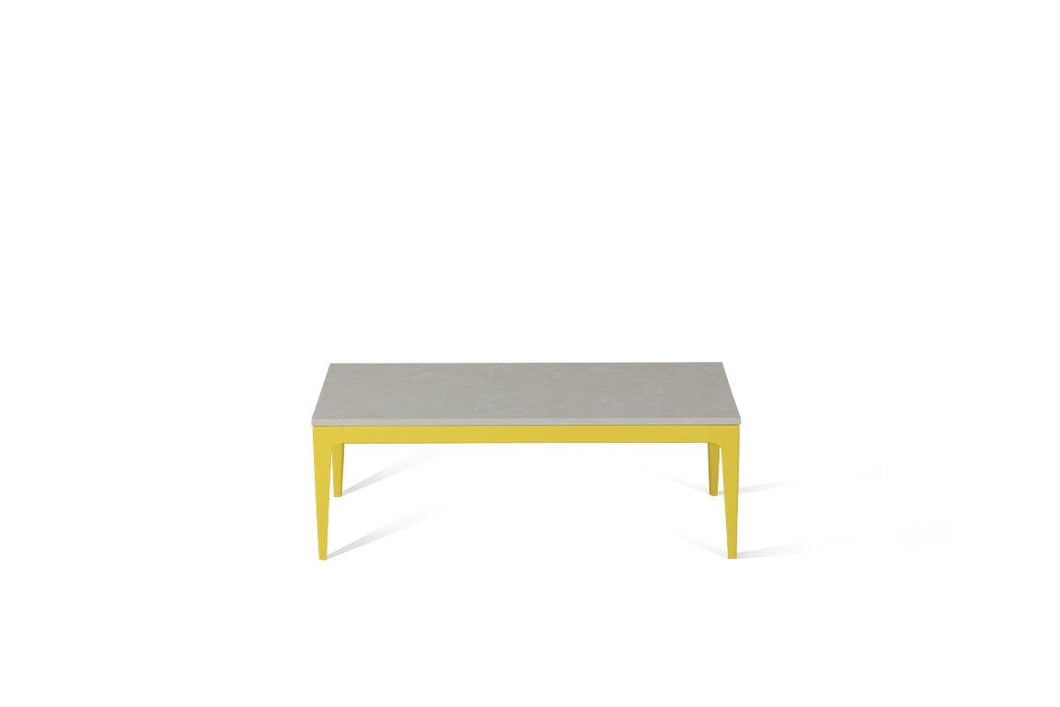 Alpine Mist Coffee Table Lemon Yellow