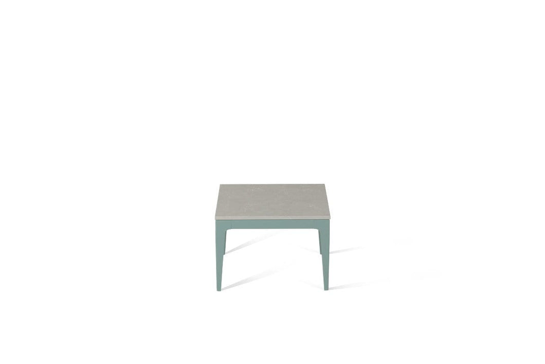 Alpine Mist Cube Side Table Admiralty