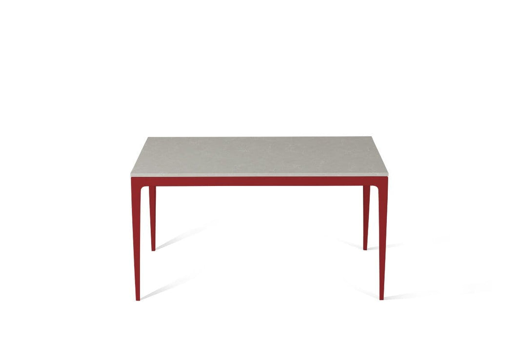 Alpine Mist Standard Dining Table Flame Red