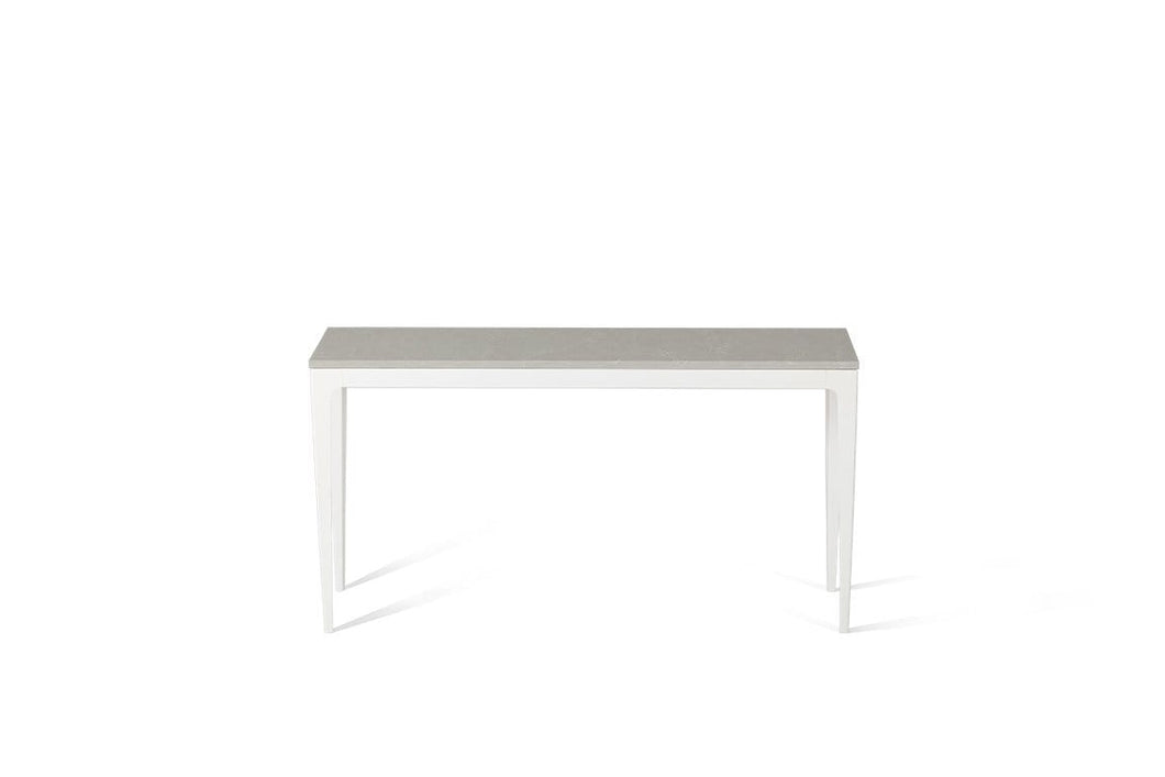 Alpine Mist Slim Console Table Oyster