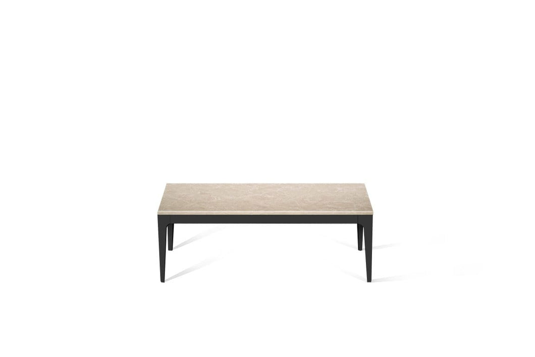 Cosmopolitan White Coffee Table Matte Black