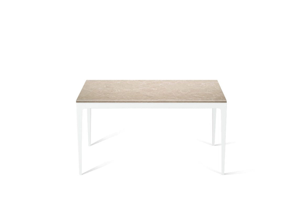 Cosmopolitan White Standard Dining Table Pearl White