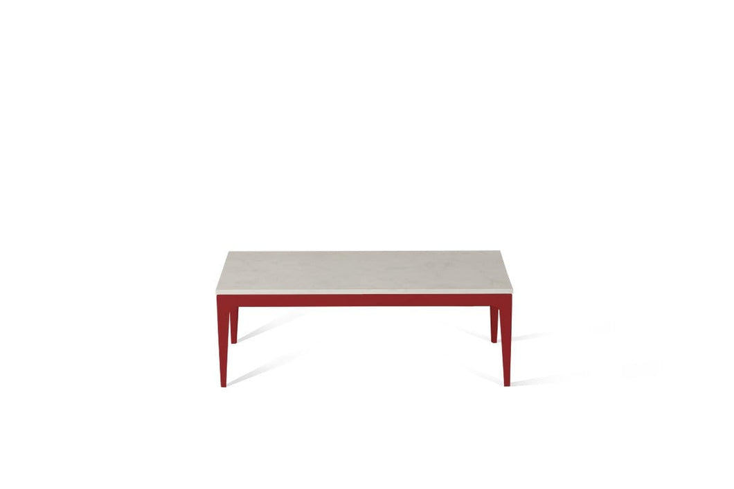 Frosty Carrina Coffee Table Flame Red