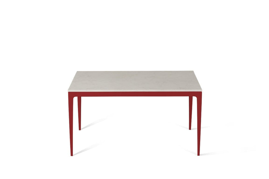Frosty Carrina Standard Dining Table Flame Red