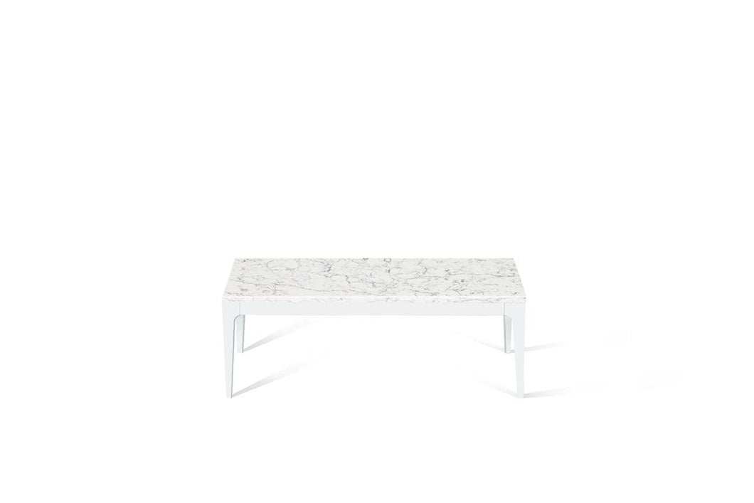White Attica Coffee Table Pearl White