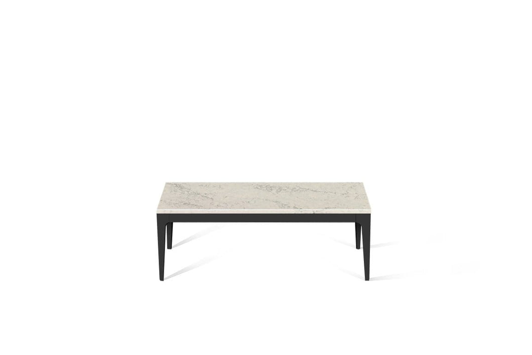 Noble Grey Coffee Table Matte Black