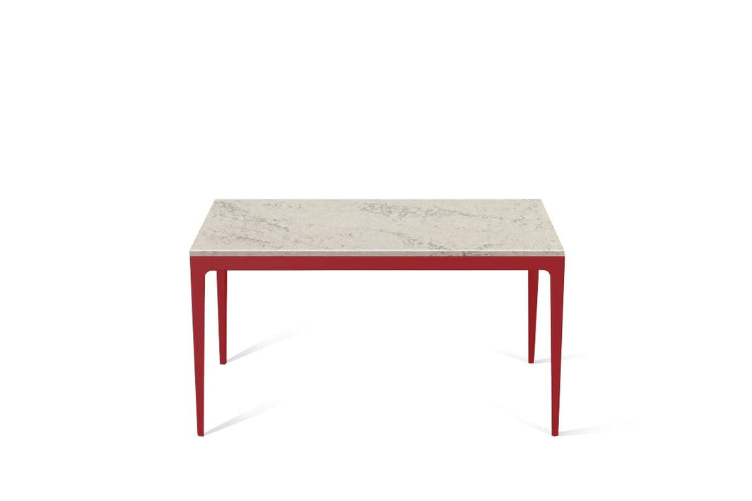 Noble Grey Standard Dining Table Flame Red