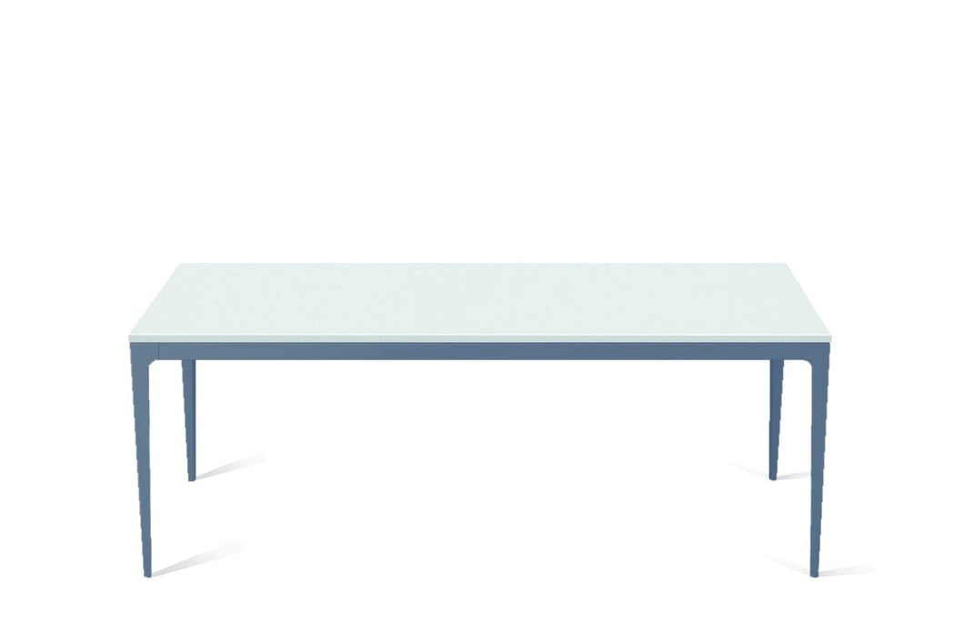 Intense White Long Dining Table Wedgewood