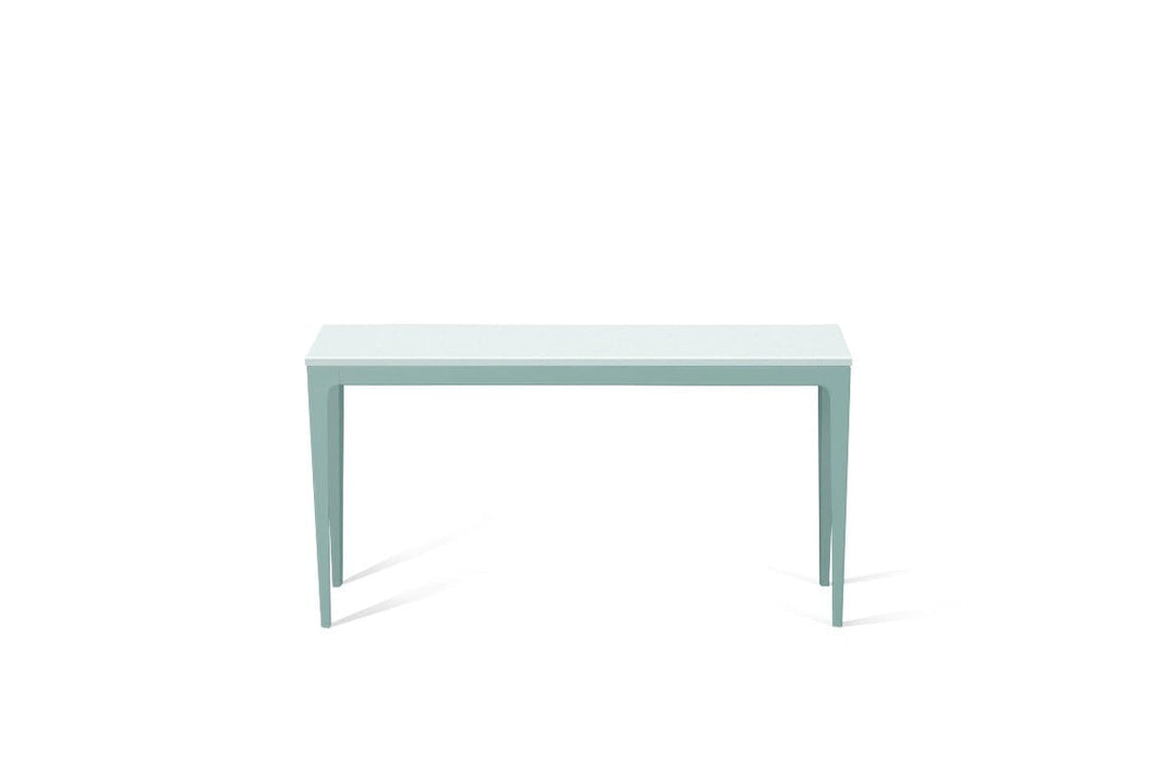 Intense White Slim Console Table Admiralty