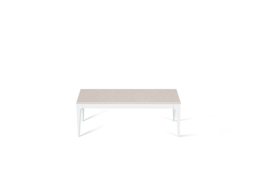 Nordic Loft Coffee Table Pearl White