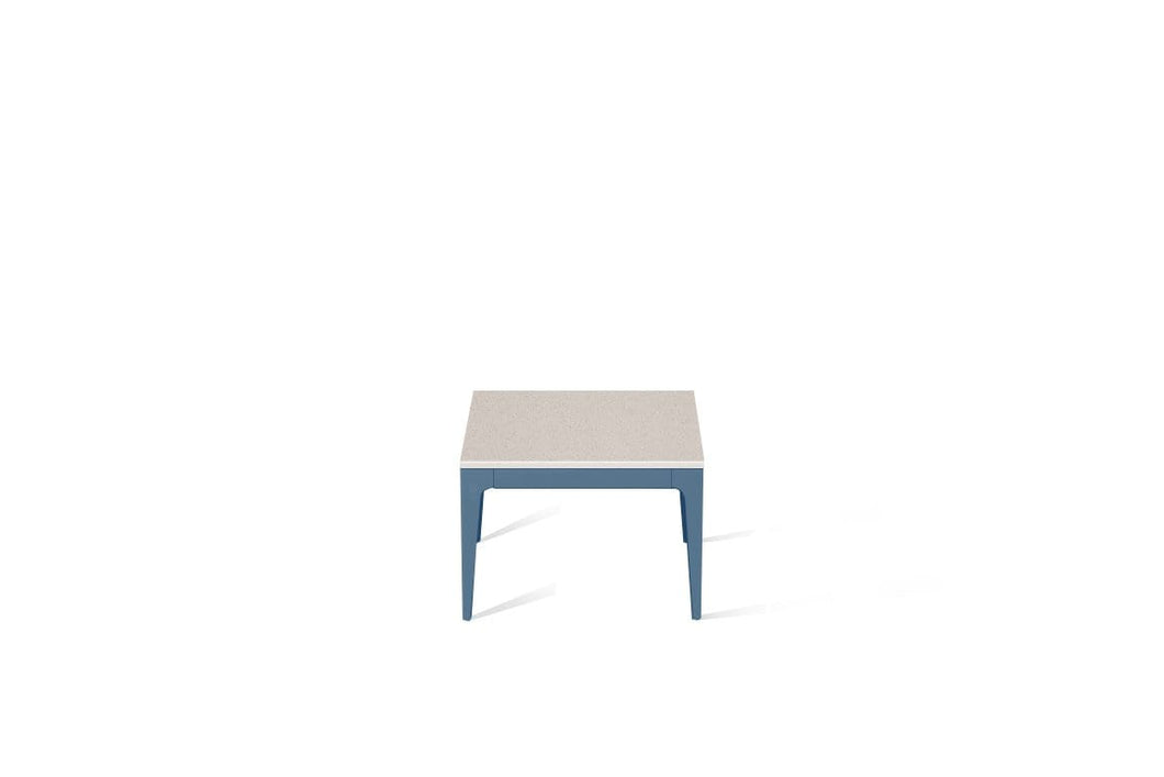 Nordic Loft Cube Side Table Wedgewood