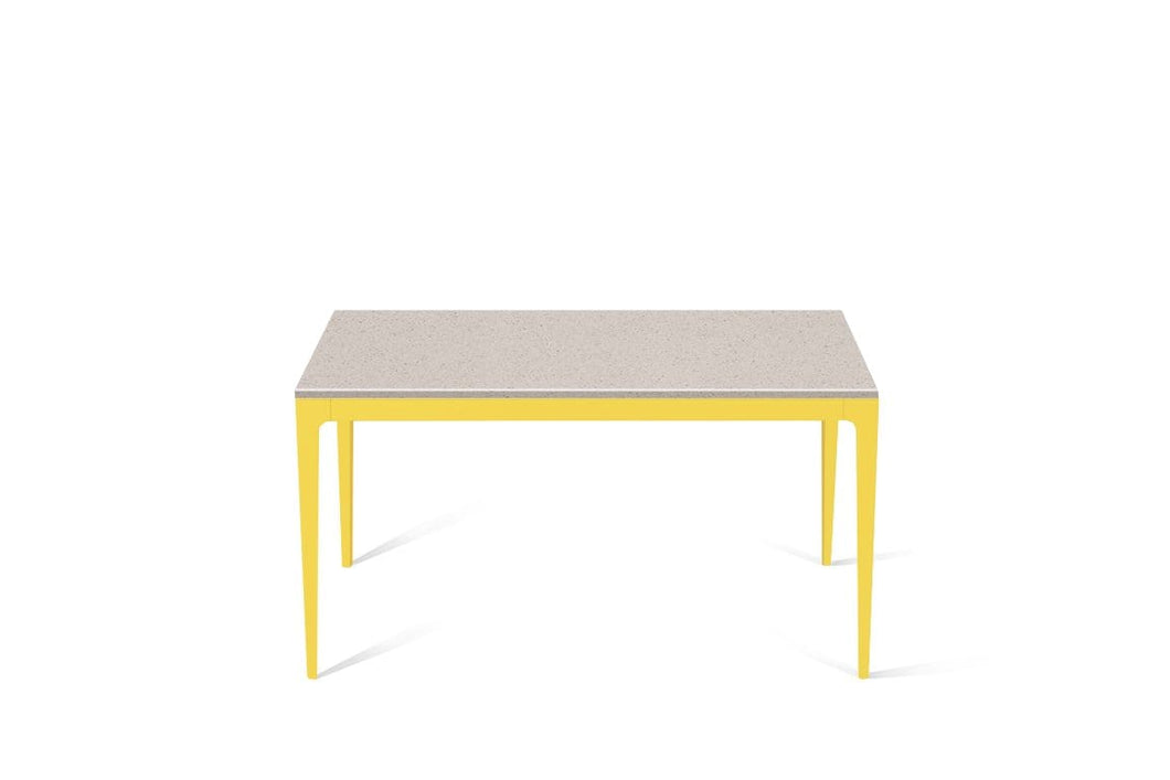 Nordic Loft Standard Dining Table Lemon Yellow