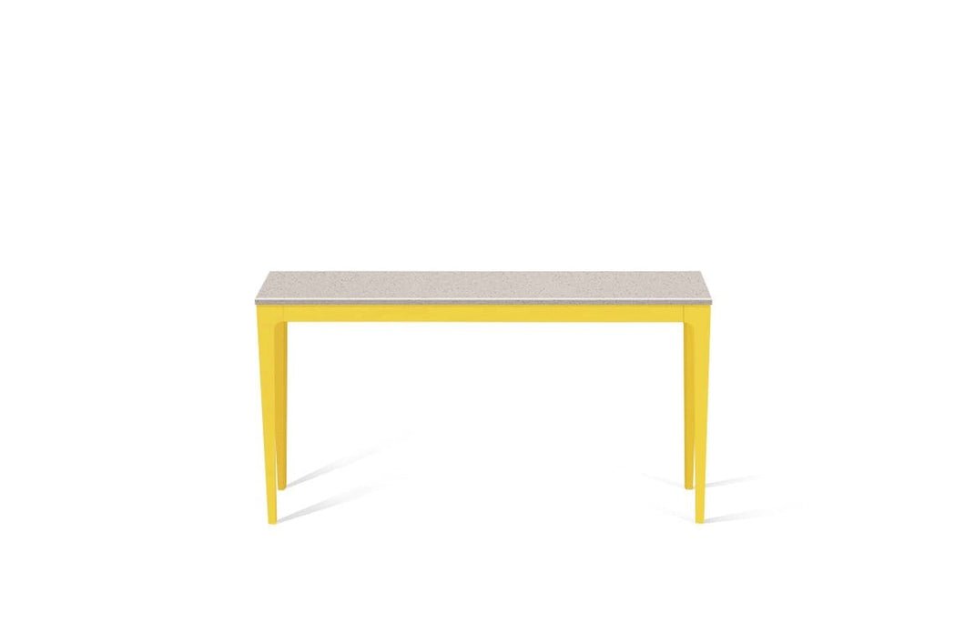 Nordic Loft Slim Console Table Lemon Yellow