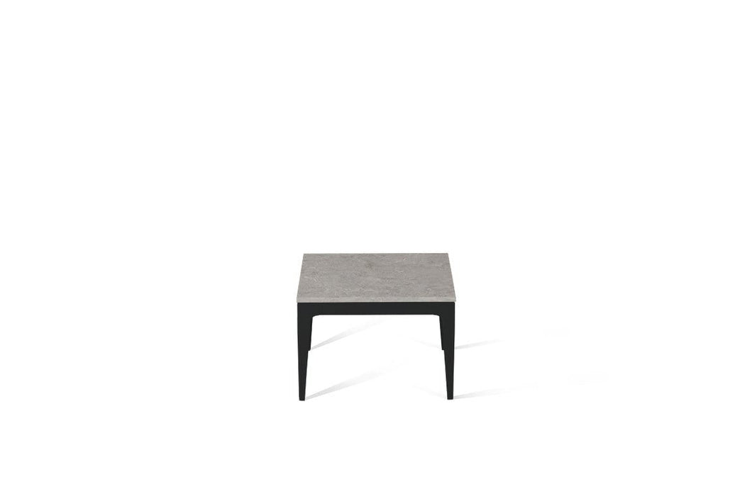 Bianco Drift Cube Side Table Matte Black