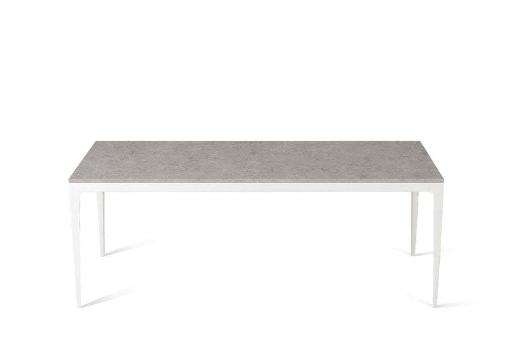 Bianco Drift Long Dining Table Oyster