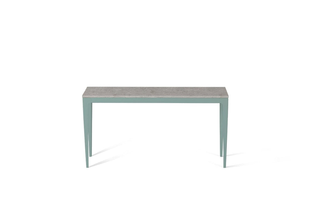 Bianco Drift Slim Console Table Admiralty