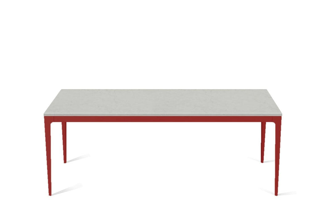 Georgian Bluffs  Long Dining Table Flame Red