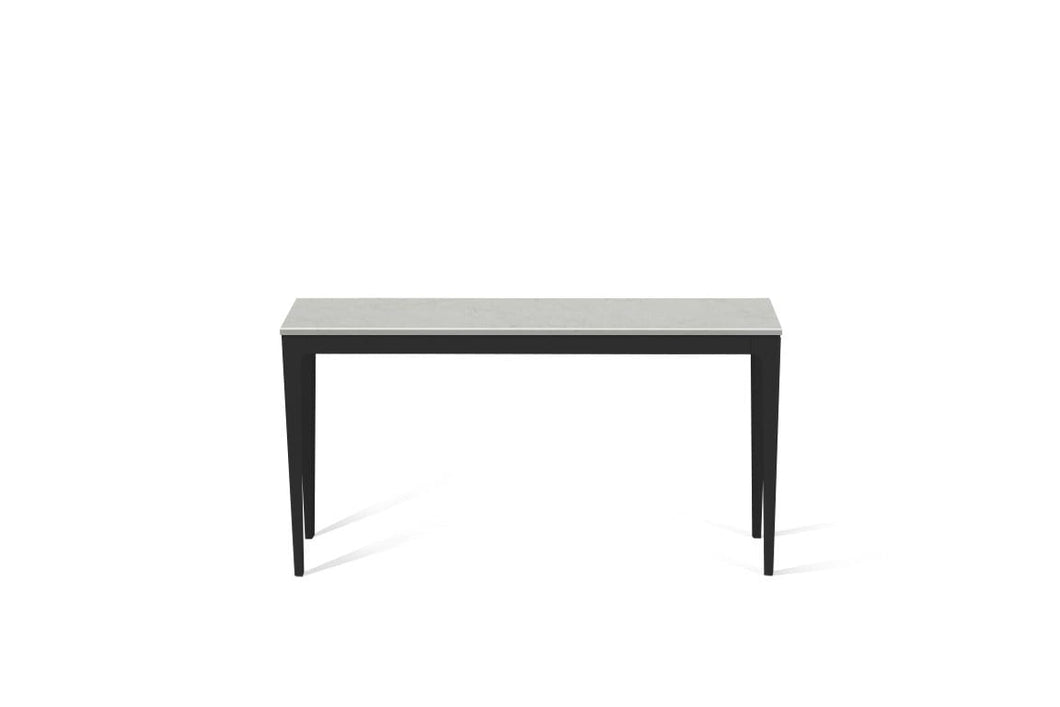 Georgian Bluffs  Slim Console Table Matte Black