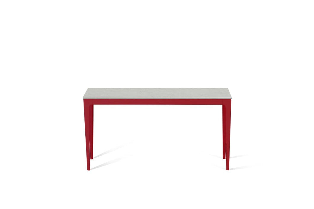 Georgian Bluffs  Slim Console Table Flame Red